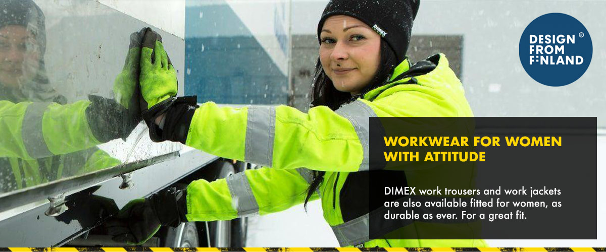 DIMEX Workwear for women with attitude