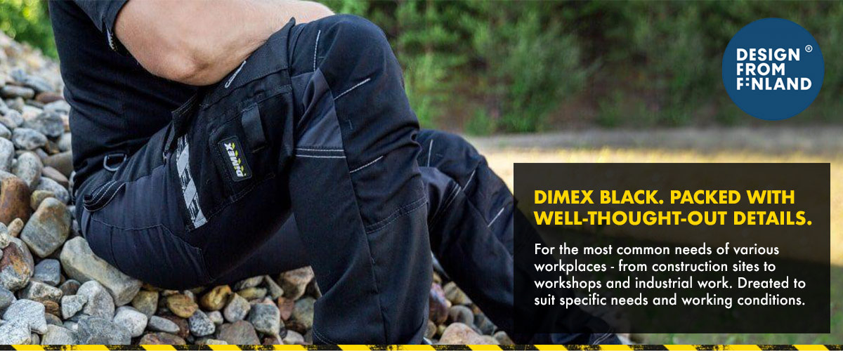 DIMEX Black Workwear